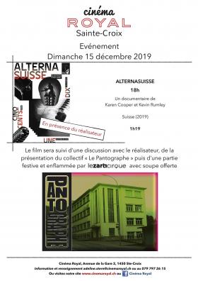 AlternaSuisse (en présence du réalisateur)