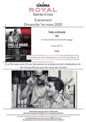 Thiel Le Rouge (en présence de la réalisatrice)