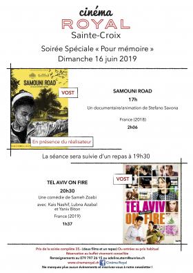 Soirée Spéciale « Pour mémoire »