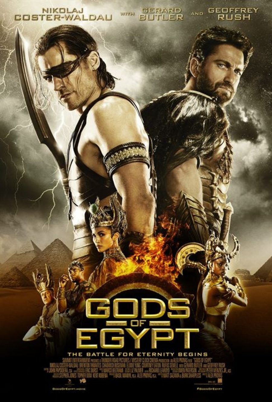 Gods of Egypt (3D)