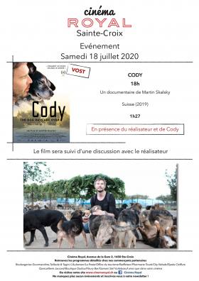 CODY (VOst) (en présence du réalisateur)