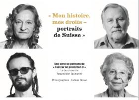 Exposition « Mon histoire, mes droits – Portraits de Suisse »