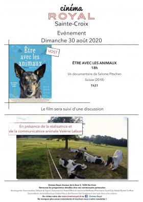 Être avec les animaux (VOst) (en présence de la réalisatrice)