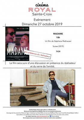 Madame (en présence du réalisateur)