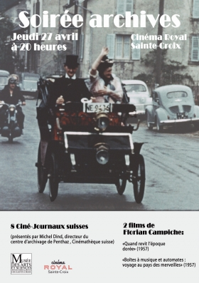 Trésors d'archives (par le MAS et la Cinémathèque)