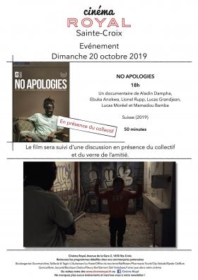 No Apologies (en présence du collectif)
