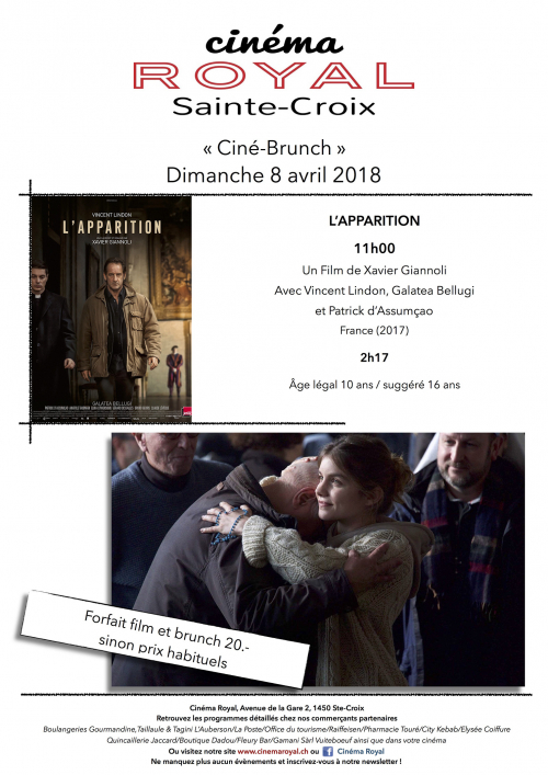 Ciné-Brunch : L'apparition