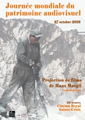 Soirée du patrimoine audiovisuel (3 films de Hans Maegli)